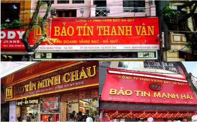 Thương hiệu vàng Bảo Tín nổi tiếng đất Hà Thành cả gia tộc kế nghiệp từ người mẹ bán ốc luộc